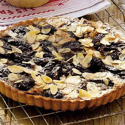 Prune & Nut Tart