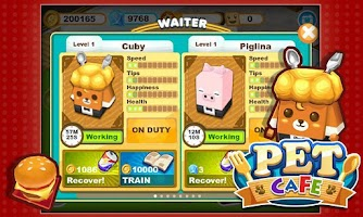 Screenshot of Pet Cafe