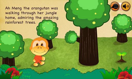Jungle Protector storybook