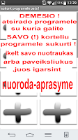 Screenshot of As noriu2 veikla :Lithuanian !