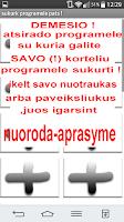 Screenshot of As noriu2 veikla :Lithuanian !