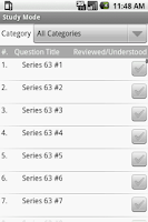 Screenshot of FINRA Series 63  Exam Prep
