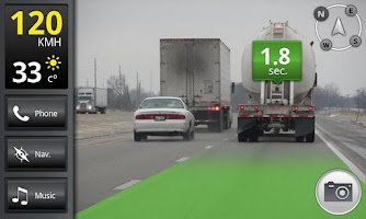 Screenshot of iOnRoad Augmented Driving Lite
