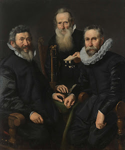 RIJKS: Thomas de Keyser: Group Portrait of an Unidentified Board of Governors 1630