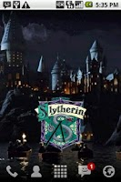Screenshot of Harry Potter Slytherin Clock
