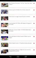 Screenshot of Notizie Sportive