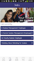Screenshot of Sodexo Jobs
