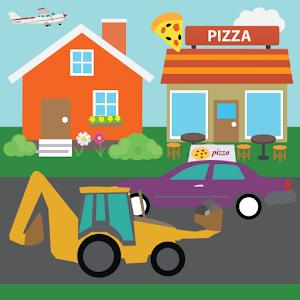 Cover art Kids Car Town 2