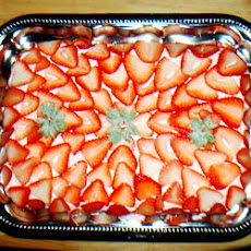 Triple Strawberry Cake