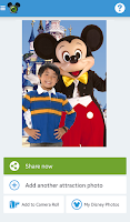 Screenshot of Disneyland Paris PhotoPass