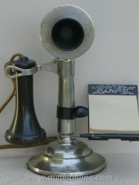 Candlestick Phones - Century Split Shaft Candlestick Telephone 1