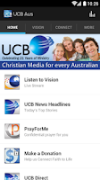 Screenshot of UCB & Vision Radio