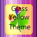 Glass yellow Go theme icon