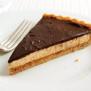 Chocolate-Peanut Butter Mousse Tart