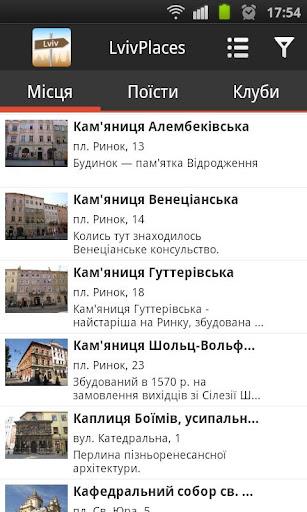 Lviv Places Guide