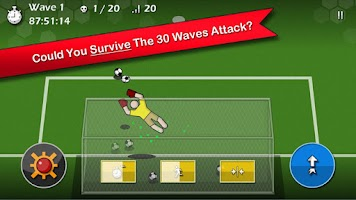 Screenshot of Ultimate GoalKeeper (Arcade)
