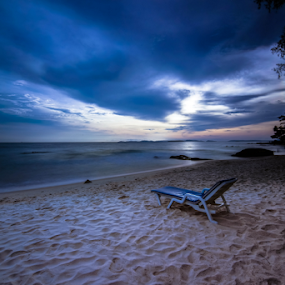 rilex chair by Arik S. Mintorogo - Landscapes Cloud Formations ( relax, tranquil, relaxing, tranquility )
