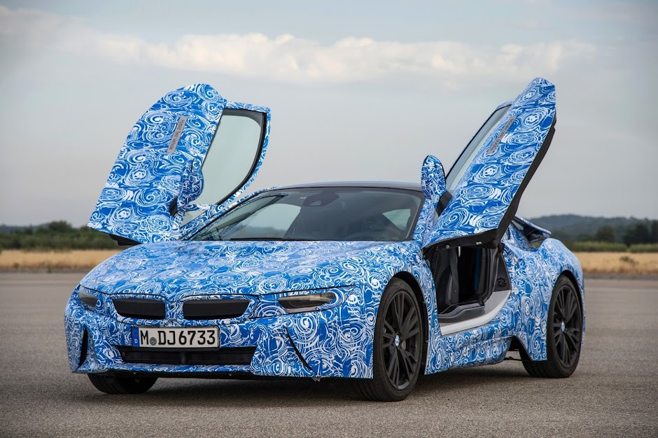 BMW i8 Production Specifications Revealed