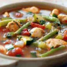 Eat-Your-Veggies Chicken Soup