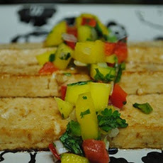 Grilled Tofu With Mango Salsa