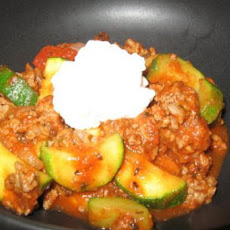 Stove-Top Zucchini and Ground Beef Skillet