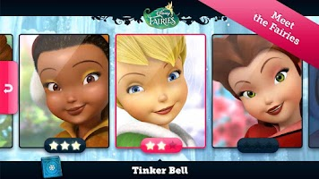 Screenshot of Disney Fairies: Lost & Found