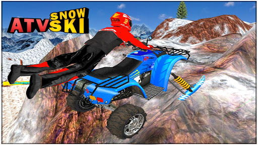 ATV Snow Ski Racing - screenshot
