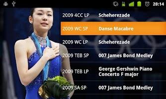 Screenshot of Figure Skating Player