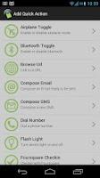Screenshot of NFC Actions