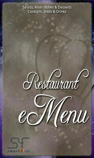 Restaurant eMenu