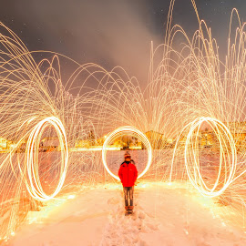 Magic!!! by Srdjan Vujmilovic - Abstract Fire & Fireworks ( canon, exposure, person, land, landscape, nightphotography, people, photography, dslr, kid, astrography, macro, share, life, nature, snow, photographer, weather, long exposure, lonexposure, light, photoshop, abstract, camera, like, photo, fire, portrait, winter, light painting, stars, night, day )