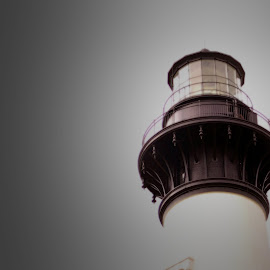 Cape Hatteras Light House  by Thaddaeus Smith - Buildings & Architecture Public & Historical ( hatteras, light house )
