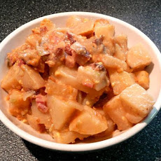 Weight Watchers Crock Pot Ham & Potatoes Au Grautin
