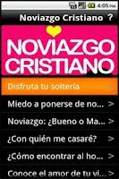 Screenshot of Noviazgo Cristiano