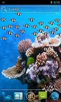 Screenshot of Fish School Live Wallpaper