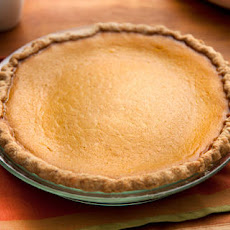 Pumpkin Pie with Spiced Crust Recipe