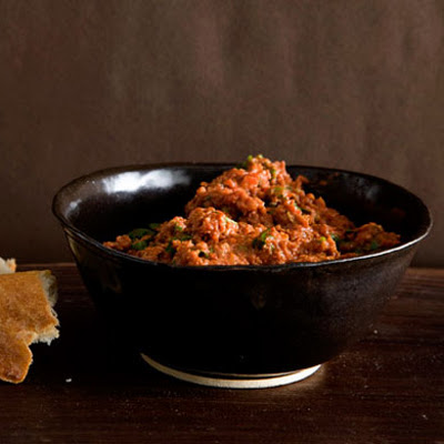 Turkish-Style Tomato and Red-Pepper Spread