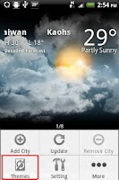 Screenshot of 9s-Weather Theme+(PaperCut)