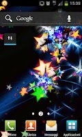 Screenshot of hd stars live wallpaper free