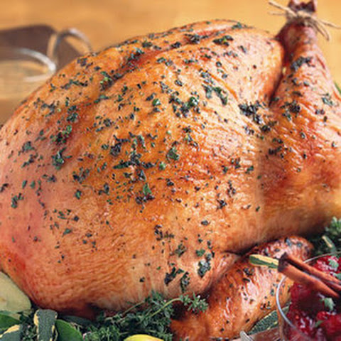 Sage Butter-Roasted Turkey With Cider Gravy Recipes — Dishmaps
