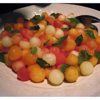 Trio Melon Ball Salad