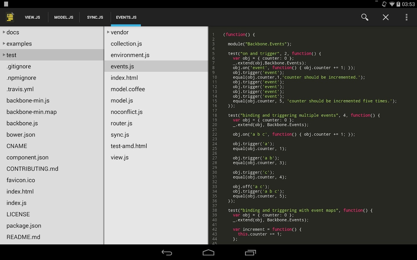 Source Code Viewer Pro Screenshot 3