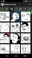 Screenshot of Smileys for Chat (memes,emoji)