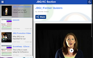 Screenshot of JBQ KC Section