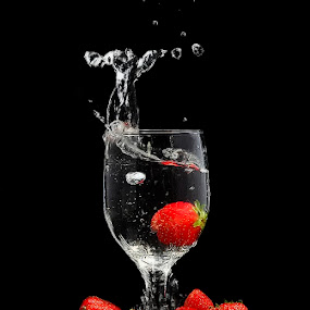 cemplung by Cibo Heriansyah - Food & Drink Fruits & Vegetables ( still life, glass, strawberry )