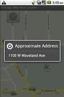Screenshot of Chicago Bike 'n Park