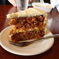 Swiss Carrot Cake With Mascarpone Icing