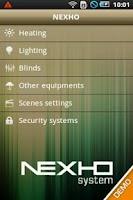 Screenshot of Nexho Demo