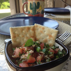 Pico De Gallo with Tuna