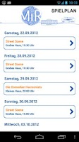 Screenshot of MiR - Die App